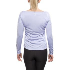 Odlo TEBE T-Shirt L/S Women purple impression melange